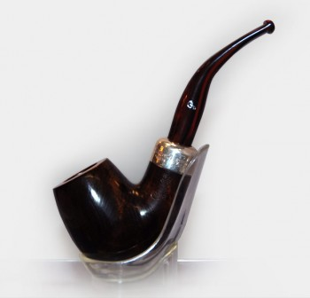 Peterson Ashford Briar Pipe  – Sterling Silver Shape XL90