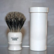 Col Ichabod Conk Badger Hair Travel Shaving Brush